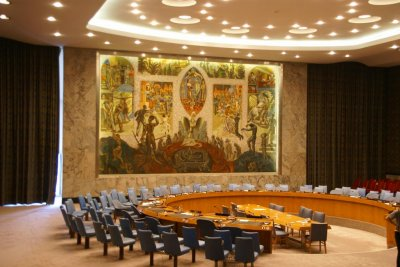U.N. Security Council votes for weapons embargo on Houthi rebels in Yemen