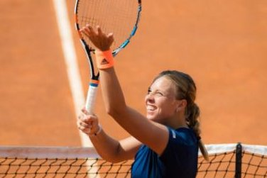 Anett Kontaveit stuns World No. 1 Angelique Kerber, advances in Rome