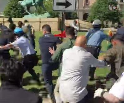 Two more arrested for violence at Turkish ambassador's D.C. residence