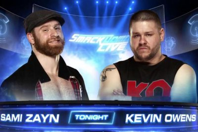WWE Smackdown: Sami Zayn confronts Kevin Owens about McMahon feud