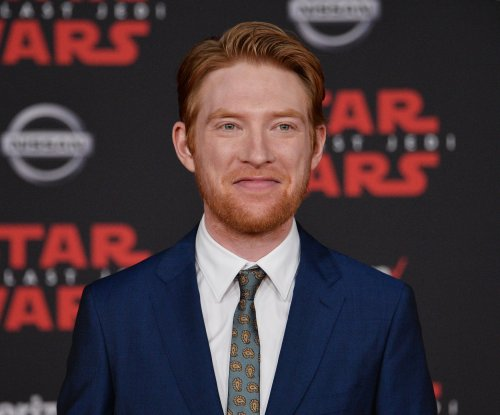 'Potter,' 'Star Wars' vet Gleeson plays rare comic roles in 2 films