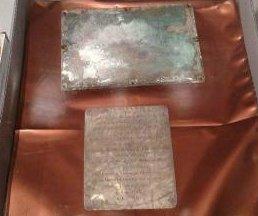 Samuel Adams time capsule opened in Massachusetts