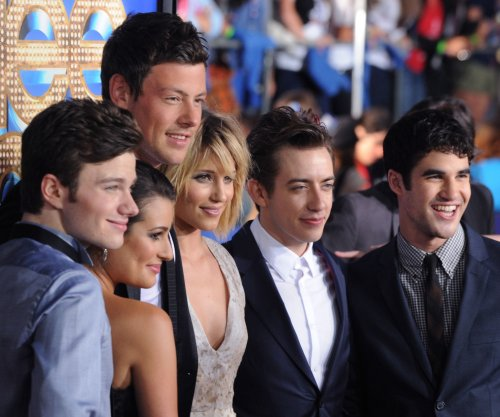 Chris Colfer pays tribute to his late 'Glee' co-star Cory Monteith