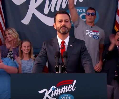 Jimmy Kimmel begins campaign for Vice President of the United States