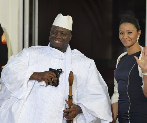 Defeated Gambia President Yahya Jammeh steps down