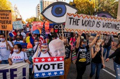 Joe Biden takes lead over Donald Trump in Georgia, Pennsylvania, expands Nevada edge