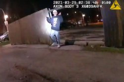Chicago police release footage of fatal shooting of 13-year-old Adam Toledo