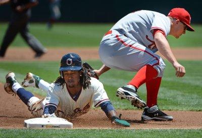 MLB: Oakland 5, Toronto 4 (15 innings)