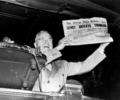 It's Truman! Dewey concedes