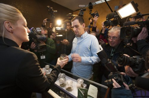 Colorado raises $2.1M in recreational pot taxes