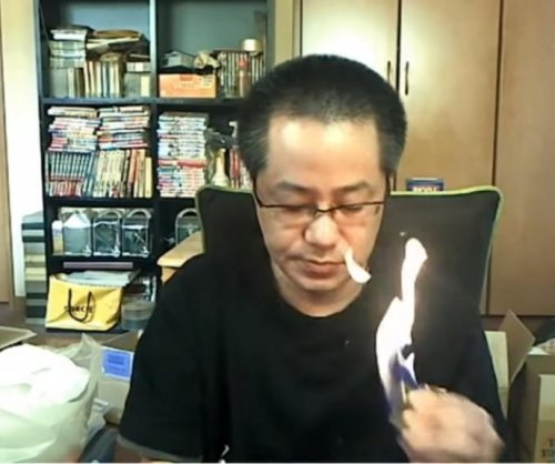 Japanese game streamer sets fire to apartment during live broadcast
