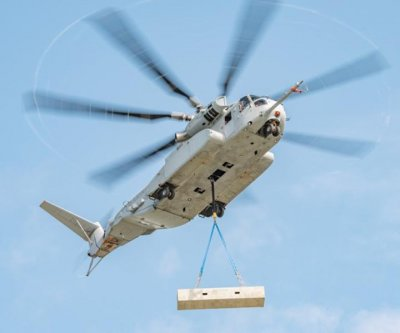 CH-53K helicopter achieves external payload milestone