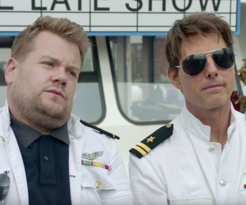 Tom Cruise, James Corden host movie-themed river cruise on 'Late Late Show'