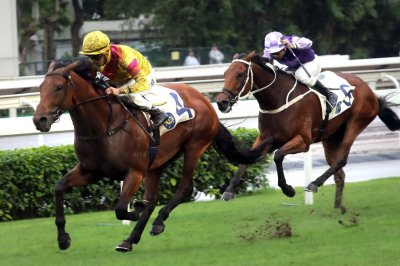 Three-year-olds take center stage on international racing front