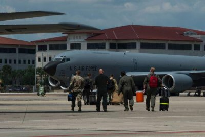 Florida military posts evacuate aircraft as Hurricane Dorian approaches