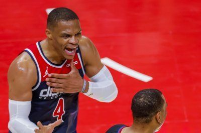 Wizards' Russell Westbrook misses practice, questionable for Game 3