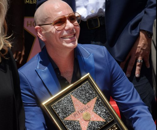Pitbull gets a star on the Hollywood Walk of Fame