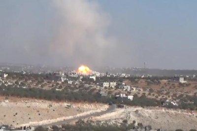 Russia denies part in airstrike that killed 22 Syrian children