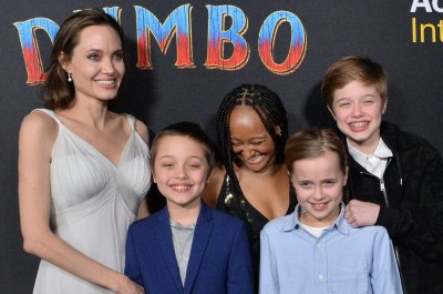 Angelina Jolie brings her kids to 'Dumbo' premiere