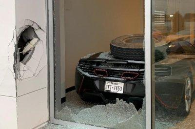 Trevor Bauer's $300K McLaren smashed by wayward semi truck tire