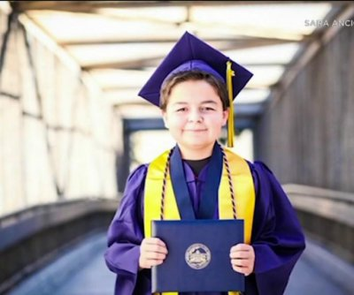 Boy, 13, graduates college with four associate's degrees