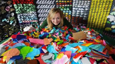Zoo seeks to display 30,000 origami elephants