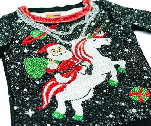 $30,000 Swarovski crystal 'ugly Christmas sweater' for sale