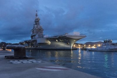 Carrier Charles de Gaulle undergoing refit and upgrade