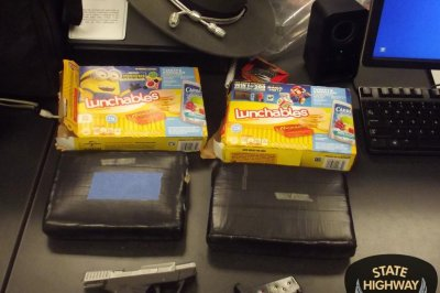 Police seize cocaine disguised as Lunchables in Ohio
