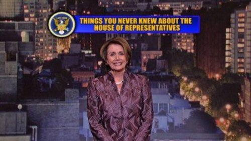 Nancy Pelosi reads Top 10 list on 'Late Show'