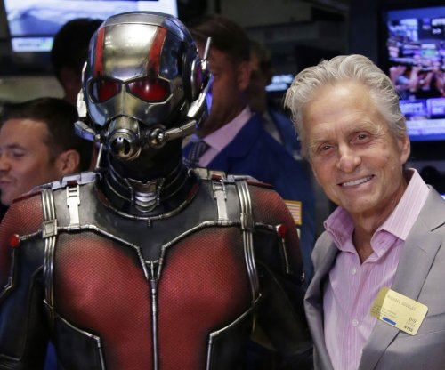 Michael Douglas envious of 'Ant-Man' co-star's comic appeal