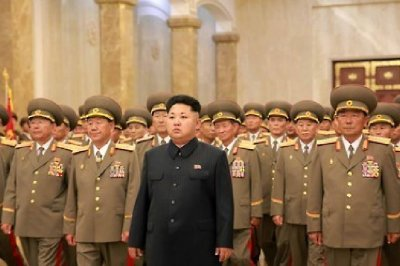 Kim Jong Un pays respects to China's fallen soldiers