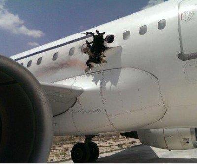 Al-Shabab claims responsibility for failed Somali plane bombing