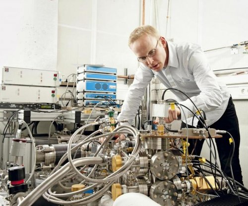Super-cooled electrons reveal their quantum nature