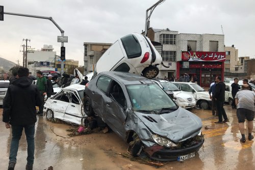 Flooding in Iran kills more than a dozen people