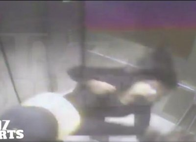 Graphic video surfaces of Ray Rice repeatedly punching his fiancee in Atlantic City elevator