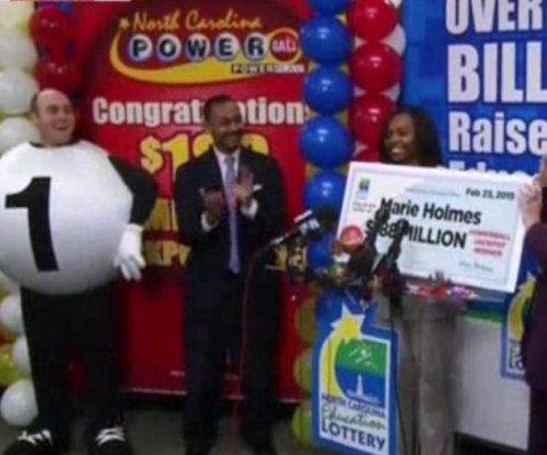 Single mother of 4 in North Carolina claims one-third of $564 million Powerball drawing