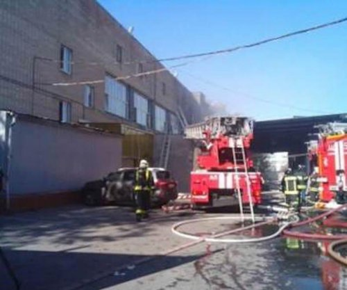 At least 17 dead in Moscow warehouse fire
