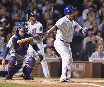 World Series, Game 2: Chicago Cubs set starting lineup, Kyle Schwarber in as DH
