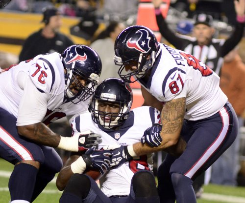 Houston Texans owner Bob McNair : Holdout Duane Brown 'ought to be here'