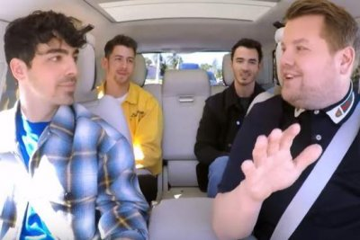 Jonas Brothers take lie-detector test during Carpool Karaoke