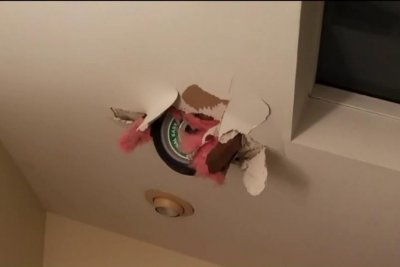 Watch:-Wheel-dropped-by-helicopter-crashes-through-roof-of-Illinois-home