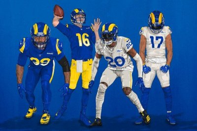 Los Angeles Rams reveal new uniforms for 2020 season