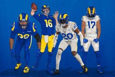 Los Angeles Rams reveal new uniforms for 2020 season