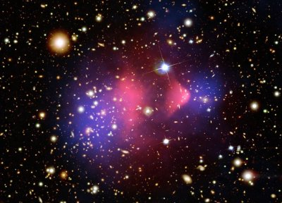 X-ray spike could signal presence of dark matter