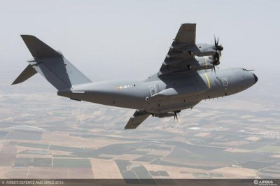 Spain receives first Airbus A400M transport