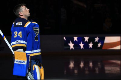 Joel Edmundson's late goal sends St. Louis Blues past Anaheim Ducks