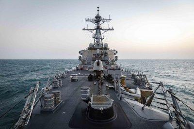 USS John McCain first U.S. Navy vessel to transit Taiwan Strait in 2021