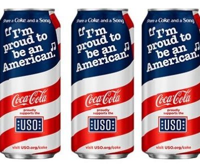 Coke to unveil new patriotic cans for Memorial Day weekend