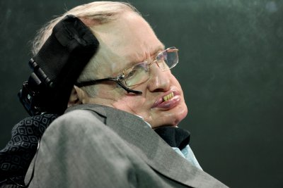 Stephen Hawking hospitalized in Rome